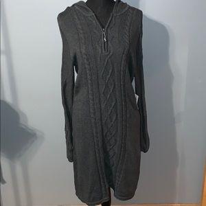 Athleta sweater dress